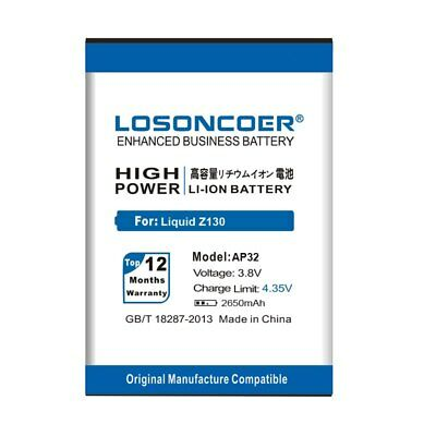 LOSONCOER Replacement Li-ion Batteries Mobile Phone Battery For Acer Liquid AP32