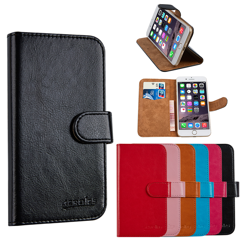 Luxury PU Leather Wallet For Alcatel LUME Mobile Phone Bag Cover With Stand Card Holder Vintage Style Case