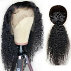 Curly brazilian Virgin Human Hair Lace Frontal Wigs Full Wigs Baby Hair wigs