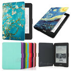Leather Kindle Touch Case Cover for Amazon Kindle Paperwhite 1 2 3 10th Gen 2018