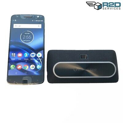 Moto Z Droid XT1650 Black - 32GB w/ Amazon Smart Speaker Mod (Verizon)