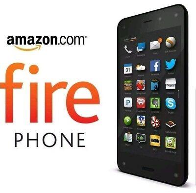 NEW, Open Box - Amazon Fire Phone 32GB Black (Factory Unlocked) Smartphone