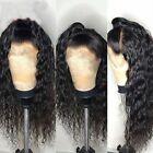Soft Brazilian Virgin Hair Wig Lace Front Human Hair Wigs Deep Wave Curly Hair
