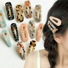 Women Vintage Leopard Hair Clip Bobby Pin Hairband Hairpin Barrette Comb Access