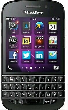 Blackberry Mobile Phone 4g 3