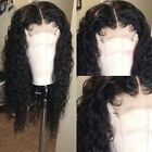 Deep Wave Curly Wig Brazilian Human Hair Full Lace Front Wigs With Baby Hair Fhh