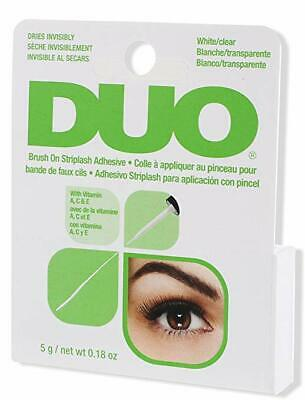 DUO Brush-On Strip Lash Adhesive Extension Eyelash Glue White Clear Invisible
