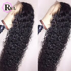 RULINDA Curly Wig Brazilian Lace Front Human Hair Wigs With Baby Hair full wigs