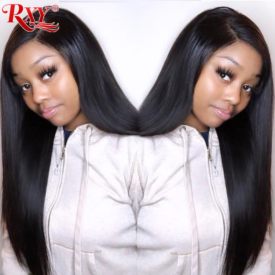 Straight Lace Front Wig 13X6 Glueless Lace Front Human Hair Wigs For Black Women 13X4 Brazilian Lace Wigs With Baby Hair Remy