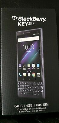 Blackberry Key2 LE 64GB Slate Unlock Phone 5
