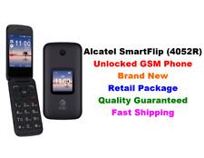 Unlocked GSM AT&T Alcatel SmartFlip(4052R) Basic Phone 4G LTE Wi-Fi 4GB T-Mobile